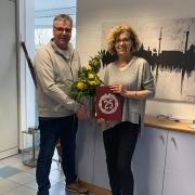 25 Jahre Jubiläum Ursula Münzer Steinglanz